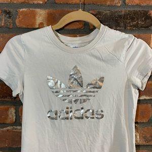 adidas Tops - Adidas Short Sleeve Metallic Trefoil T-shirt